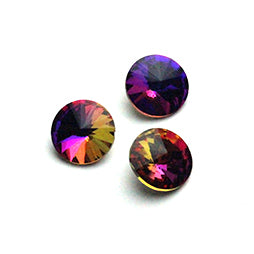 Fancy Stone Rivoli 14mm Purple Light AB