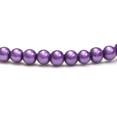 Glasparels 3mm Dark Purple