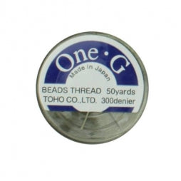 Toho One-G Beading Thread Light Khaki