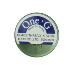 Toho One-G Beading Thread Green