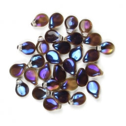 Pip Beads 5x7mm Crystal Azuro