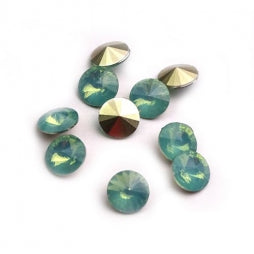 Resin Rivoli 8mm Opal Green