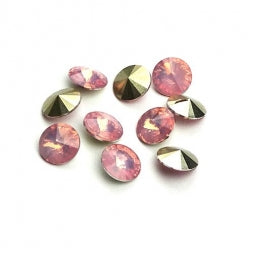 Resin Rivoli 8mm Pink