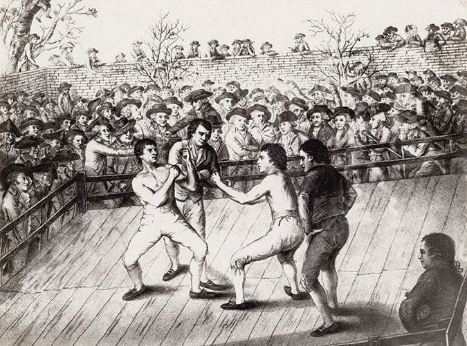 Bare Knucle Fighting - Early 19th Century