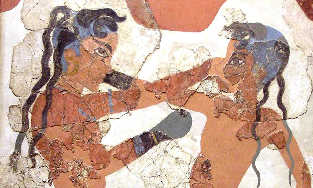 Minoan Early Boxing - BCE 1650