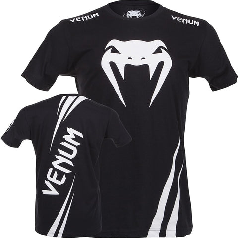Venum Challenger Mens T Shirt Black / White