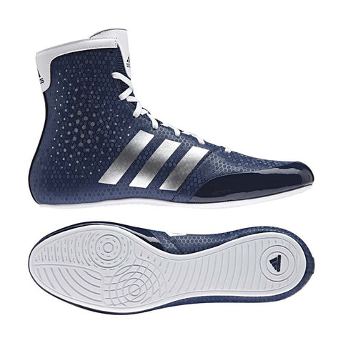 Adidas KO Legend 16.2 Boxing Boots Blue / White