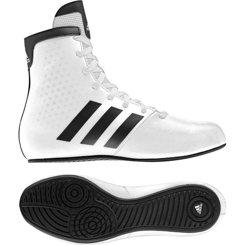 Adidas KO Legends Kids Boxing Boots White / Black