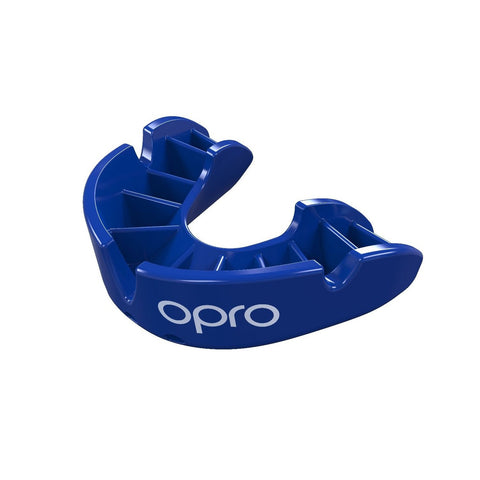 Opro Bronze Gen 4 Mouth Guard Blue