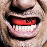Opro UFC Gold Mouth Guard Red Metal / Silver