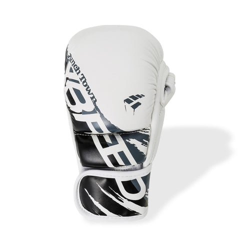PunchTown xBreed KR Hybrid Gloves White / Black