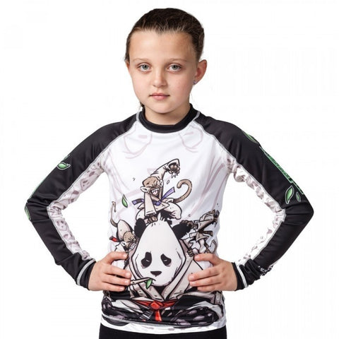 Tatami fightwear Kids Gentle Panda Rash Guard