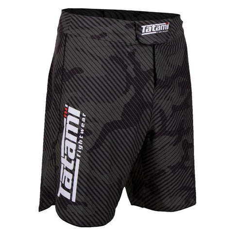 Tatami Fightwear Renegade Camo Fight Shorts Black / Green