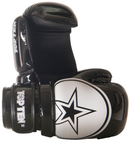 Top Ten Glossy Block Pointfighter Gloves