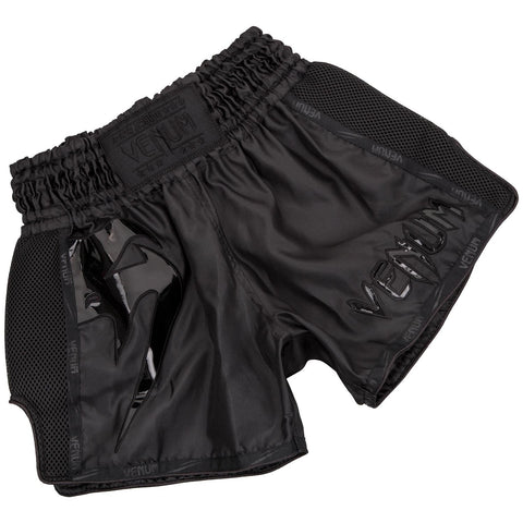 Venum Giant Muay Thai Shorts Black / Black