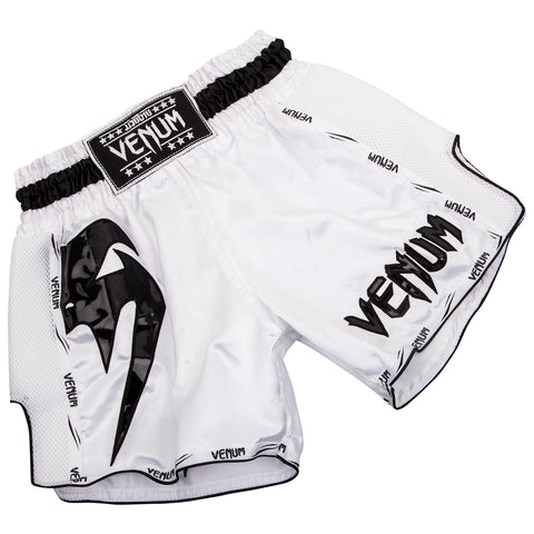 Venum Giant Muay Thai Shorts White / Black