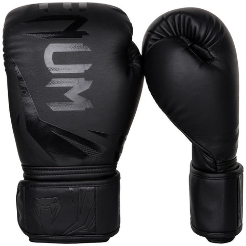 Venum Challenger 3.0 Boxing Gloves Black / Black