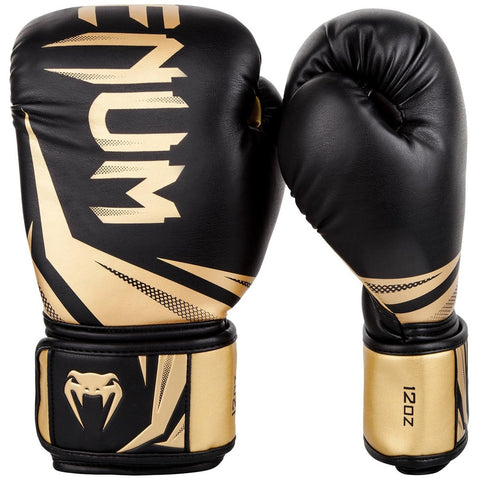 Venum Challenger 3.0 Boxing Gloves Black / Gold
