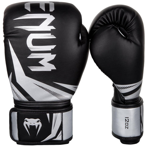 Venum Challenger 3.0 Boxing Gloves Black / Silver