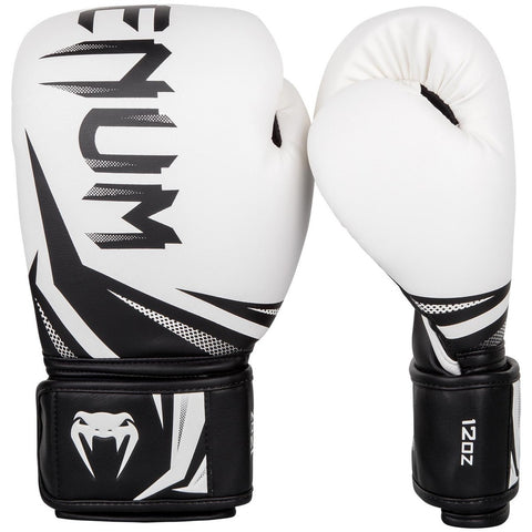 Venum Challenger 3.0 Boxing Gloves White / Black