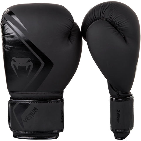 Venum Contender 2.0 Boxing Gloves Black / Black