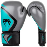 Venum Contender 2.0 Boxing Gloves Grey / Turquoise