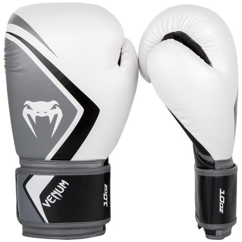 Venum Contender 2.0 Boxing Gloves White / Grey