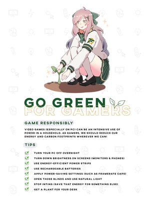[ECO] Go Green Reminder Poster