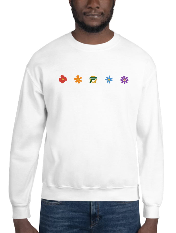 FlyQuest Floral Pride Pullover