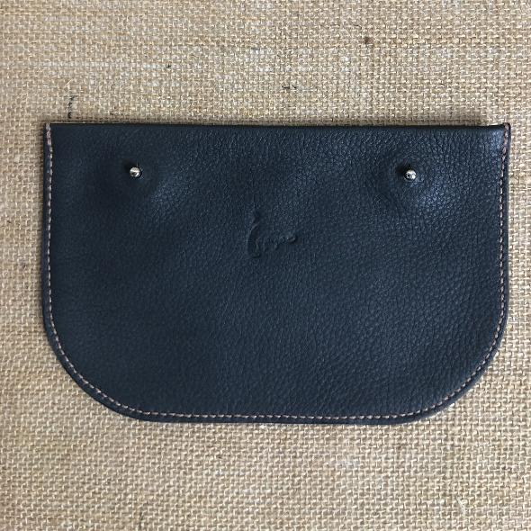 Ippyoo; cuir; pochette; fait main; artisanat; Made in France