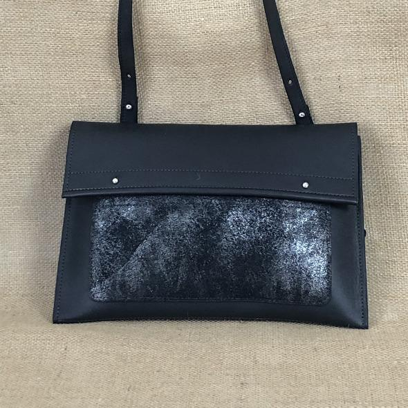 Sac en cuir, made in France, Carole Pradelle, Maroquinerie Colombes, artisan d'art