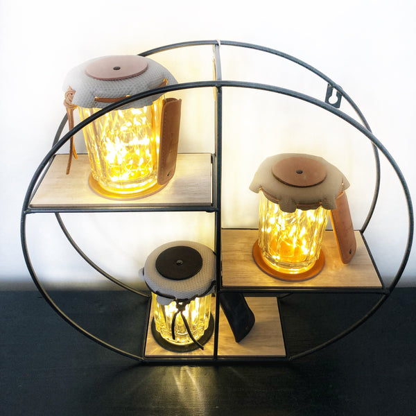 LAMPE, LIMEUX, LED, made in France, Carole Pradelle, Maroquinerie Colombes, 92 hauts de seine, paris, artisan d'art