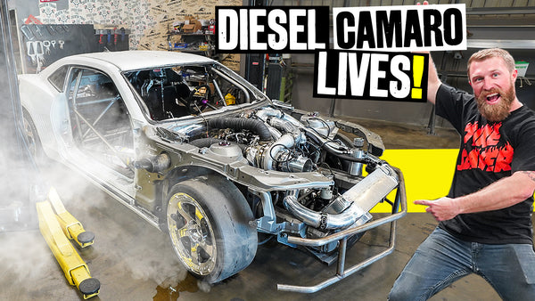 It's Alive! Coalmaro's Diesel Swap is Done, Fires Up Before We Lock Down // Knuckle Busters 2 Ep.12