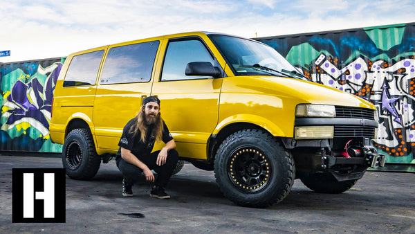 Astro Van to Badasstro Van: Our Shreditor Kyle's Daily Gets the Safari Treatment