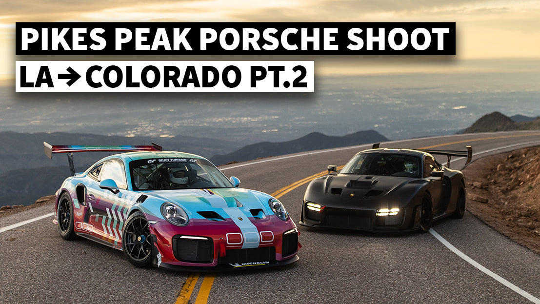 LA to Colorado in a Brand New Porsche GT4. Behind the Scenes With Larry Chen at Pikes Peak Pt.2