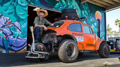 We Start Prepping our Craigslist Beetle for Baja!