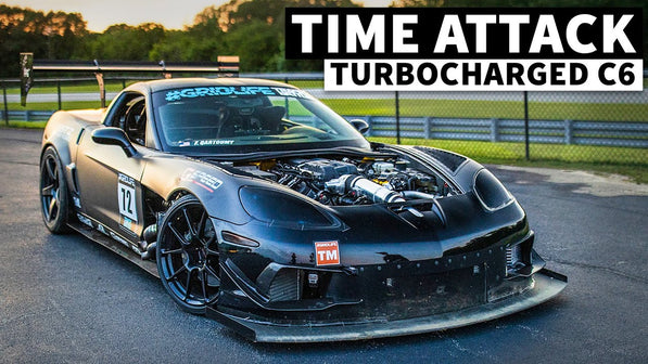875hp, Sequential Shifting C6 Corvette: A Time Attack Car Built Around a Free Turbo