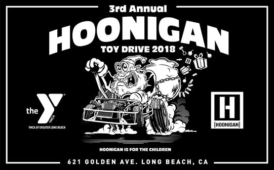 HOONIGAN TOY DRIVE 2018