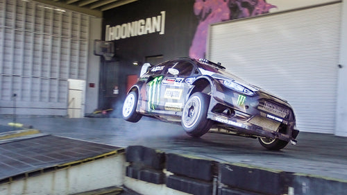 Ken Block Slays the Donut Garage in his 650HP Fiesta #Yardkhana