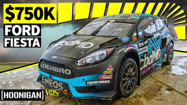 Trying NOT to Crash a $750k 600hp Ford Fiesta Rallycross Car!