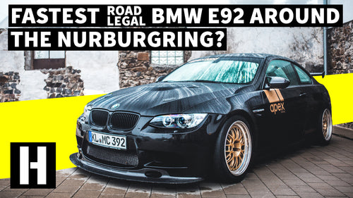 Street Legal 'Ring Stormer: Sub-7 Minute Nurburgring E92 BMW!