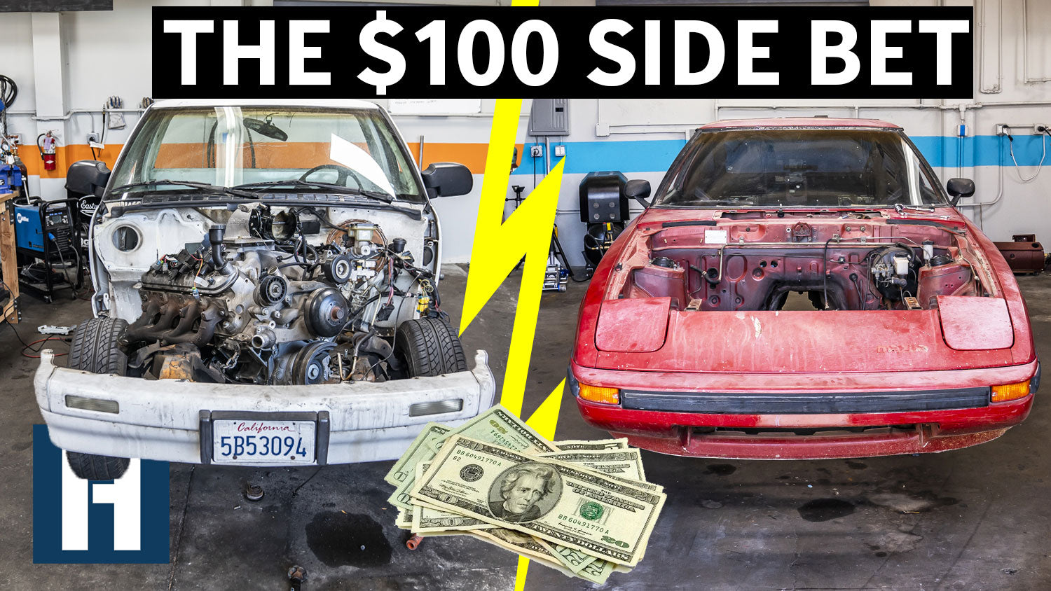 Build & Battle: Who's Engine Will Go in First?? Rotary vs V8