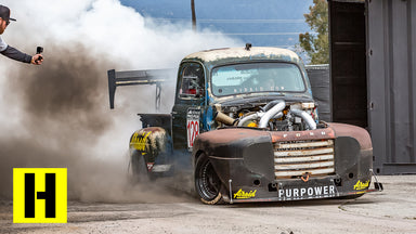 2000 ft-lb Diesel Race Truck Breaks in the New BurnYard!! Old Smokey F1 Returns