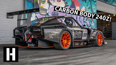 $1,100 240Z Becomes Carbon Bodied Time Attack Car of our Dreams