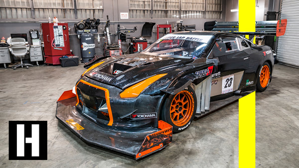1200 Horsepower Nissan Gtr Time Attack Hillclimb