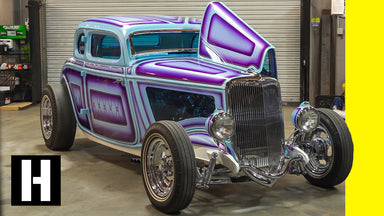 Chopped, Shaved, Painted and Polished: Insanely Detailed '34 Ford