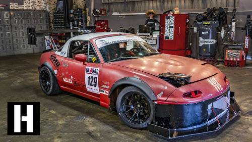 Home-Built Track Monster Miata: FAST Frankenstein Build!