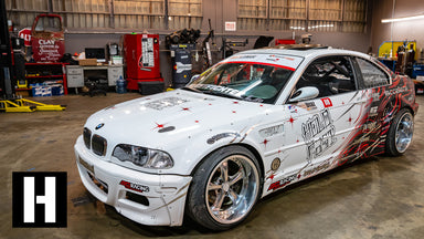 Man-line King Micah Diaz's V8 Powered BMW Shred Machine