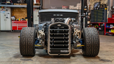 800hp Coyote Powered Hot Rod... on LeMans Wheels?? Mike Burroughs Ford Model A