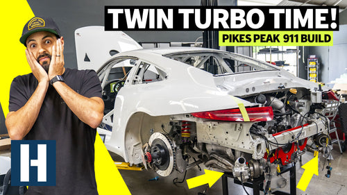 Porsche GT3 Cup Car Gets Twin Turbos: Big Power For Pikes Peak!